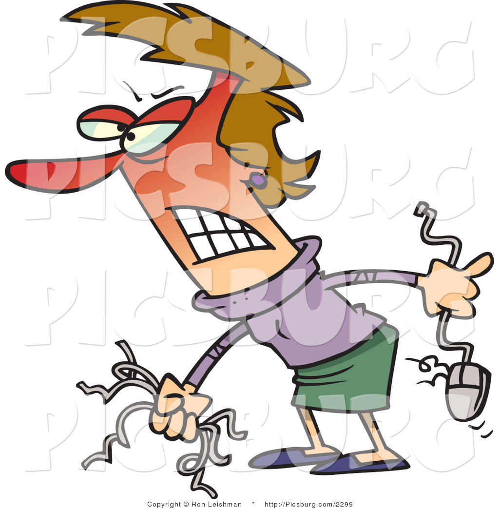 animosity clipart clip art of a mad woman baring her teeth and.