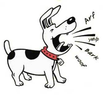 Barking Dog Clipart.