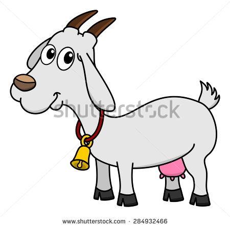 Dairy Goat Bell Stock Vector 284932466.