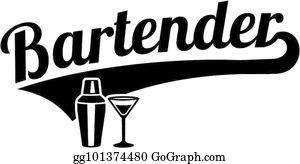 Barkeep Clip Art.