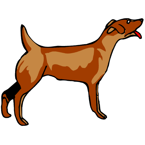 Dog barking clipart transparent.