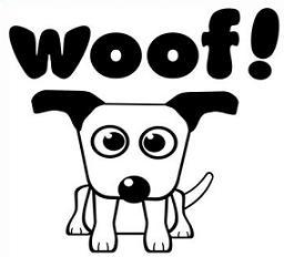 Free Barking Dog Clipart.