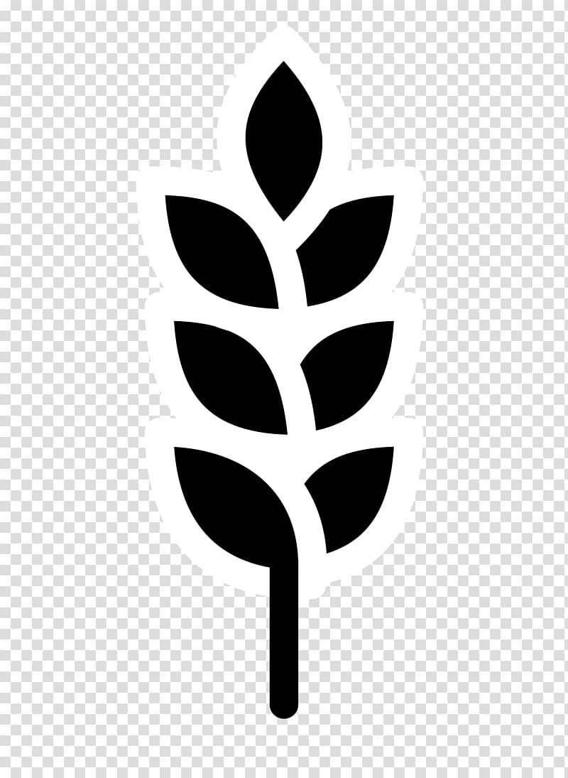 Beer Black and white Barley , barley transparent background.