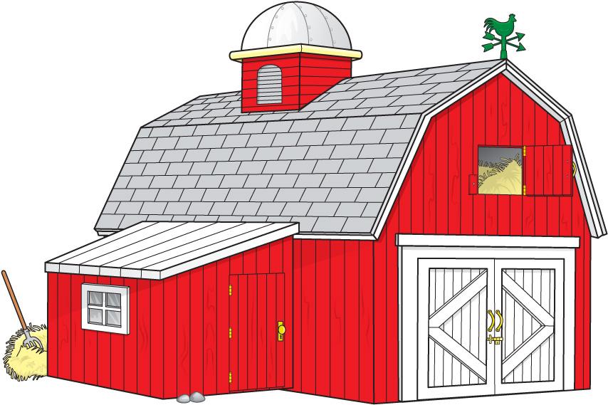 Barn Clipart For Kids.
