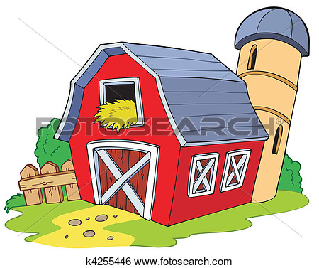 Country Barn Clipart.