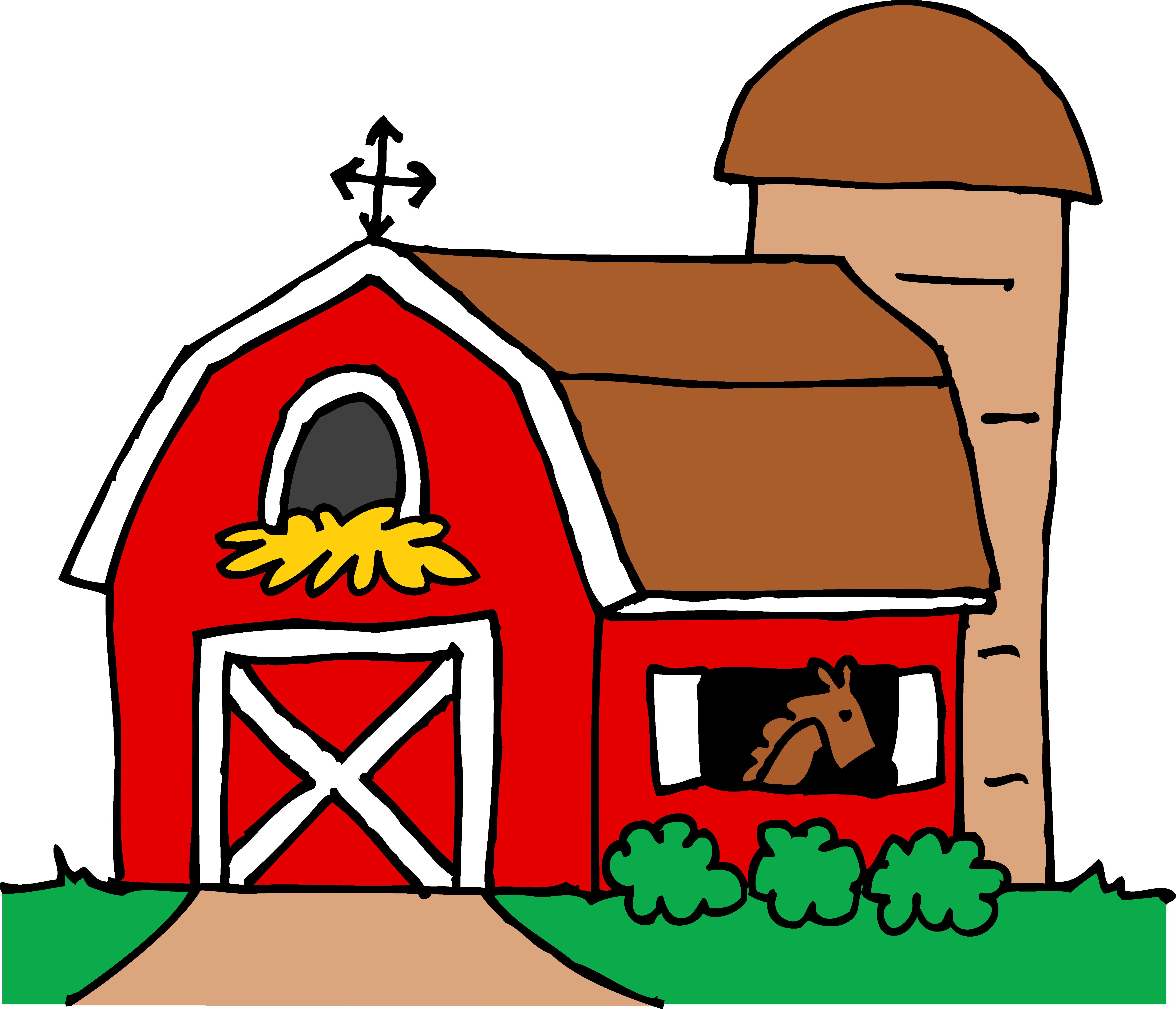 Barn Silo Farm Clip art.