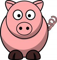Free Cartoon Farm Animal Clipart.