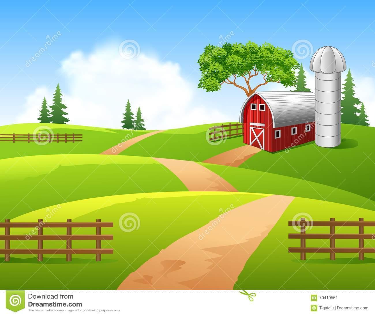 Farm clipart background 7 » Clipart Portal.