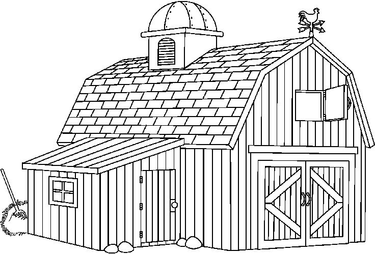 Free Black And White Barn Images, Download Free Clip Art.