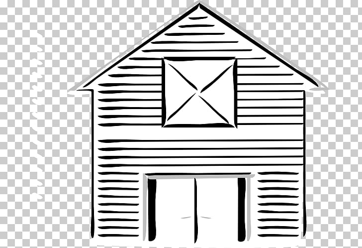 Silo Black and White Farm Barn , Barn Outline s PNG clipart.