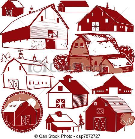 Barn Illustrations and Clip Art. 5,711 Barn royalty free.