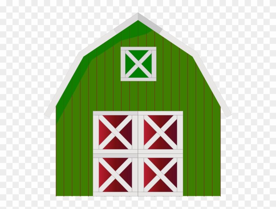 Green Barn Clip Art.