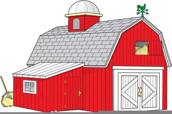 Animals Barn Clipart.