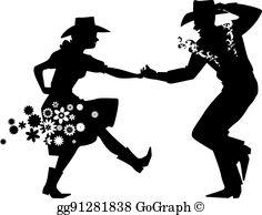 Barn Dance Clip Art.