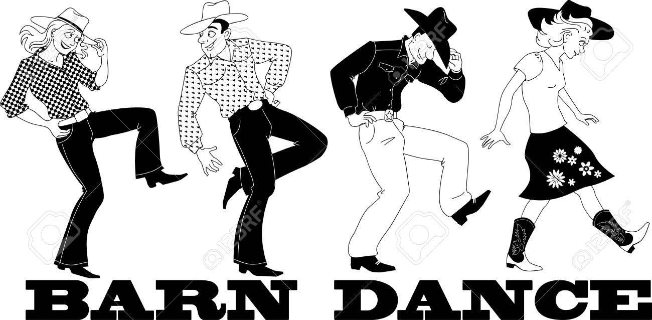 76 Barn Dance Stock Vector Illustration And Royalty Free Barn Dance.
