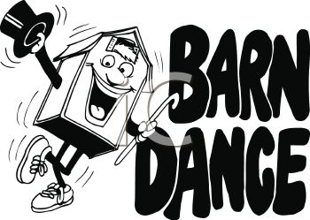 Barn Dance Clipart.