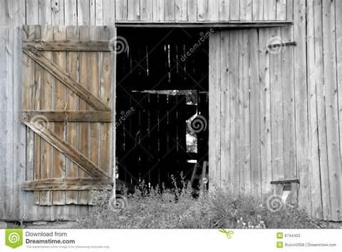 Showing picture: Open Barn Door Clipart Open, open barn door.