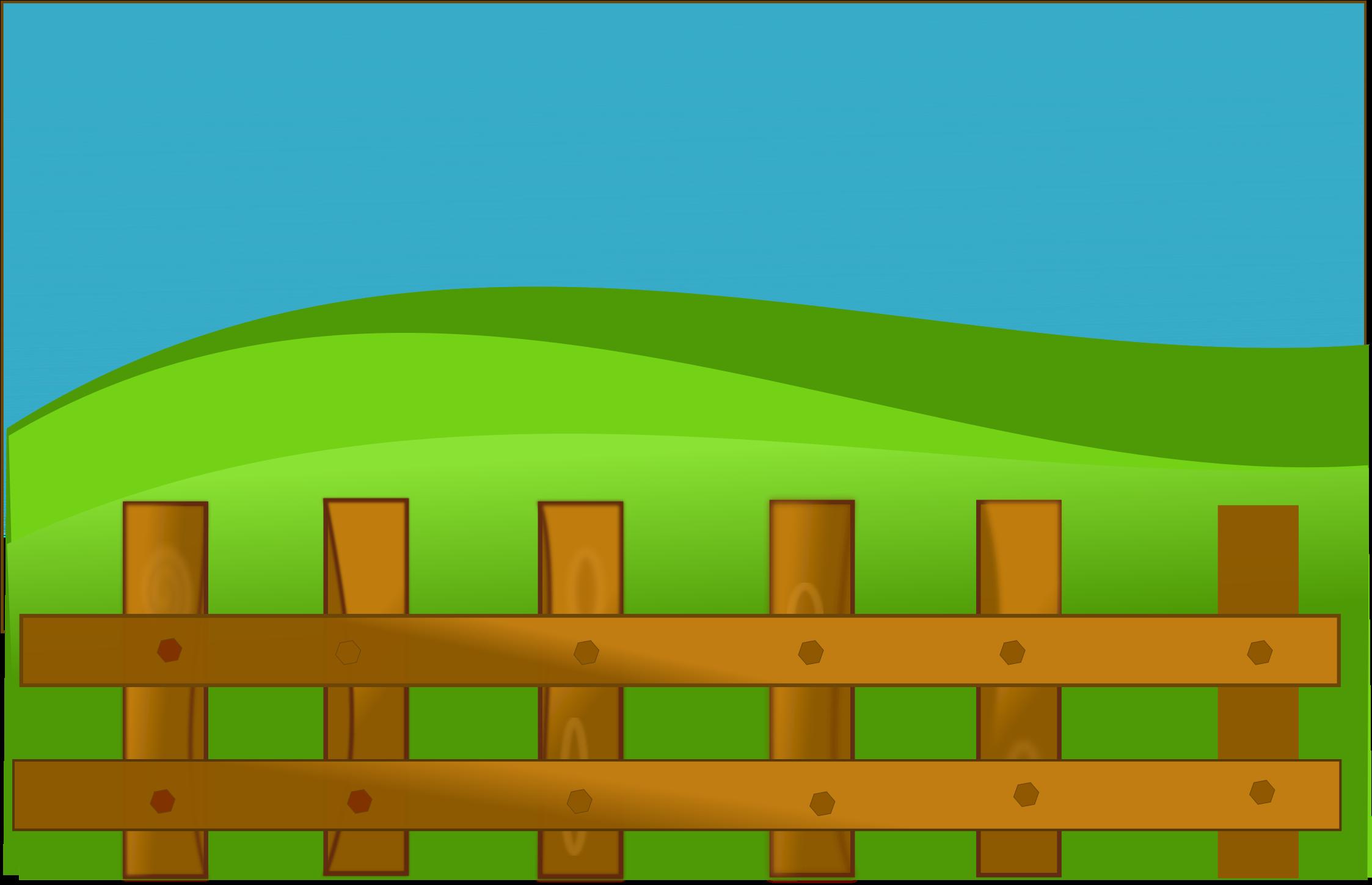 Farm Fence Clipart.