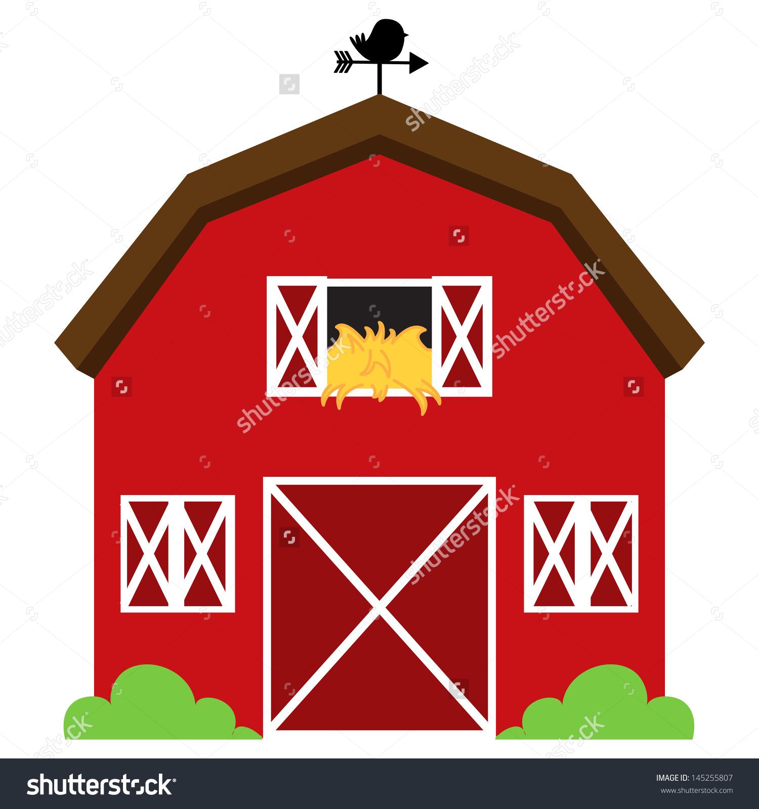 Red Barn House Clip Art (69 ).