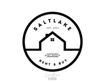 Simple Barn Logo. Shop Logo. Real Estate Business by.