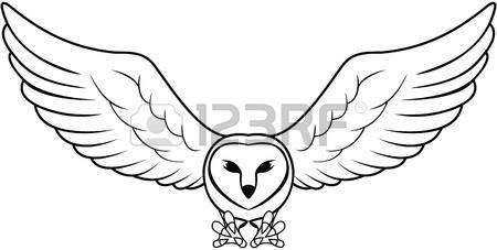 Barn Owl Clipart.