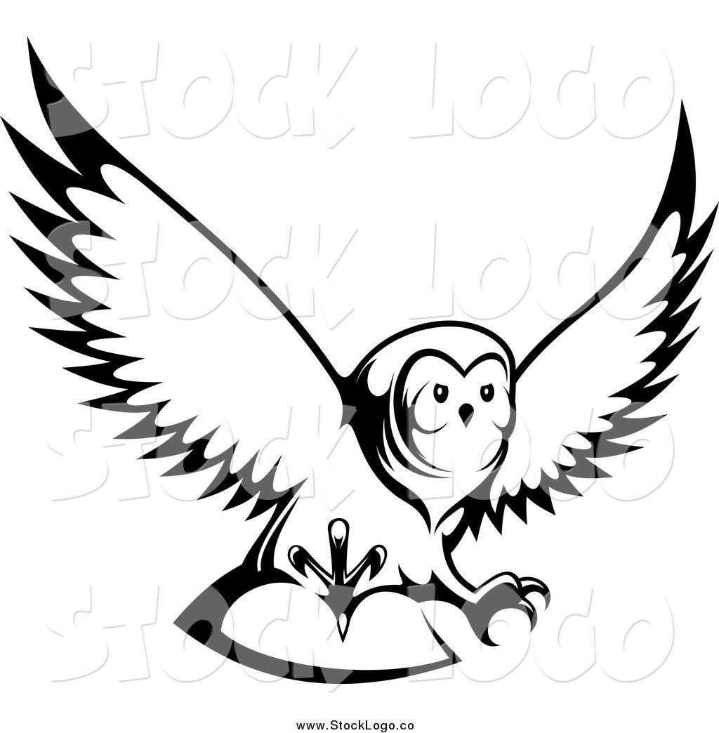 Owl Clipart Flying.