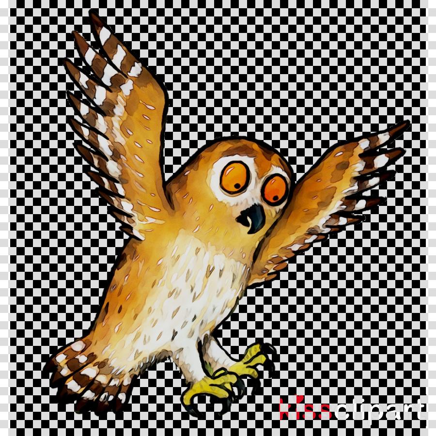 Owl Cartoon clipart.