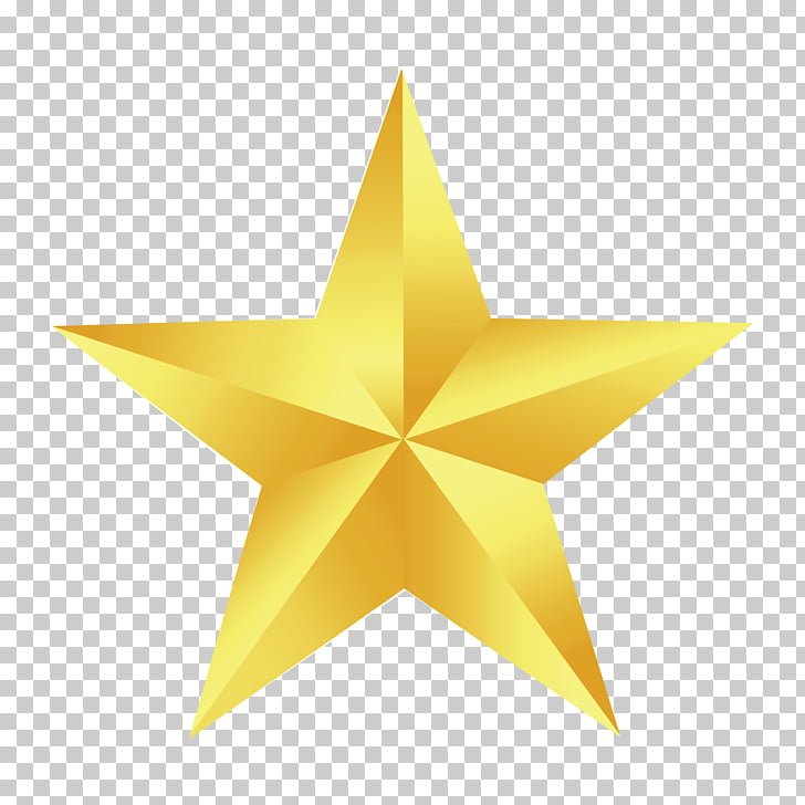 Star , gold star, yellow barn star art PNG clipart.