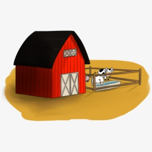 Barn Farm Cow.