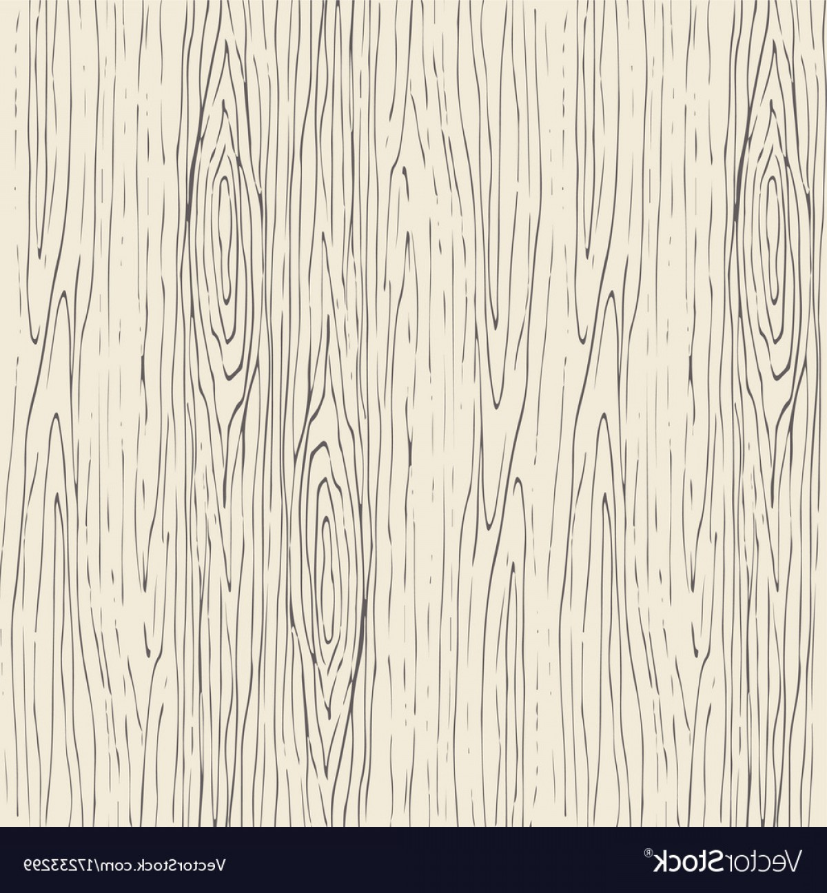 Seamless Wood Grain Pattern Wooden Texture Vector.