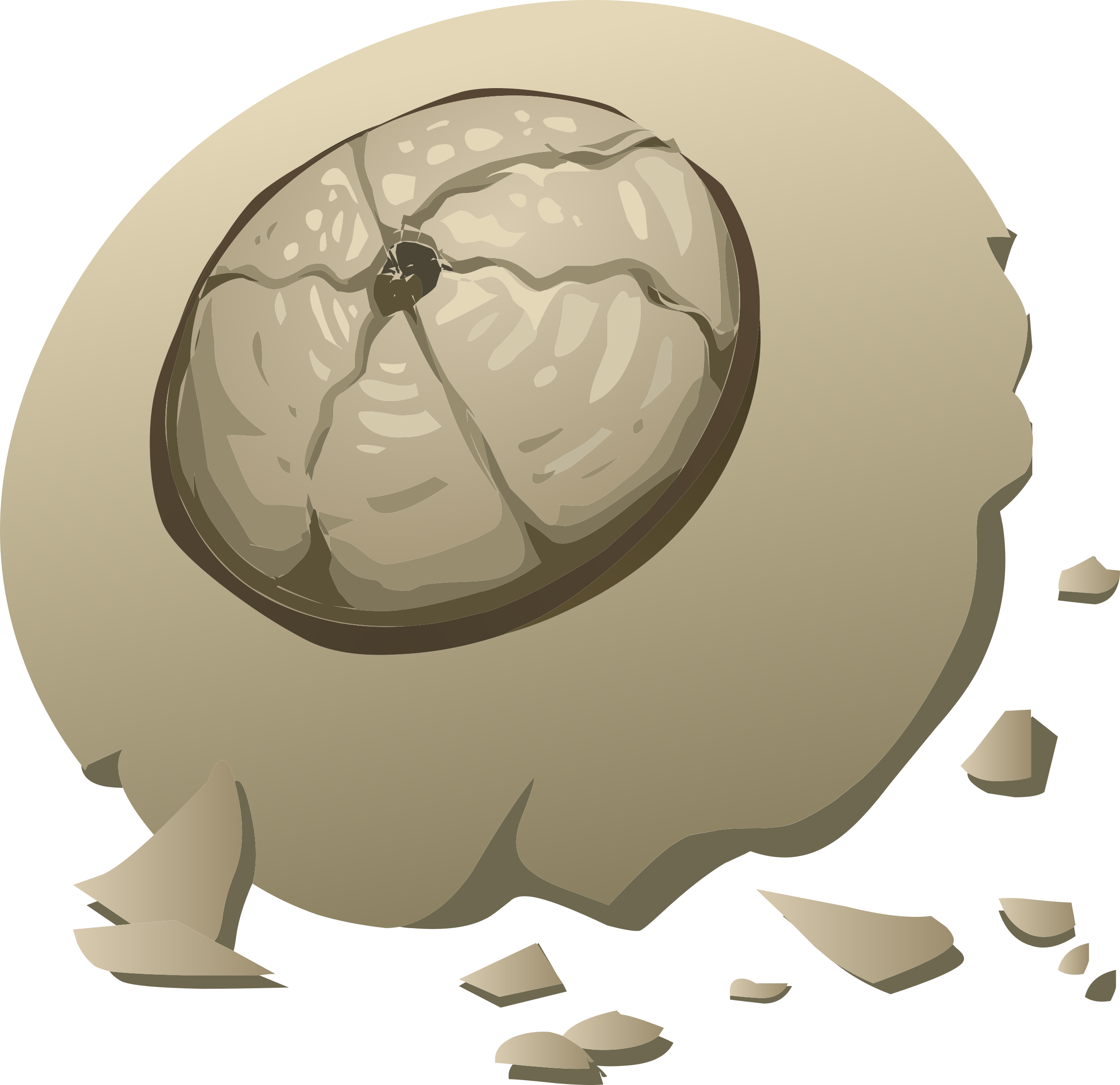 Barnacle clipart #3