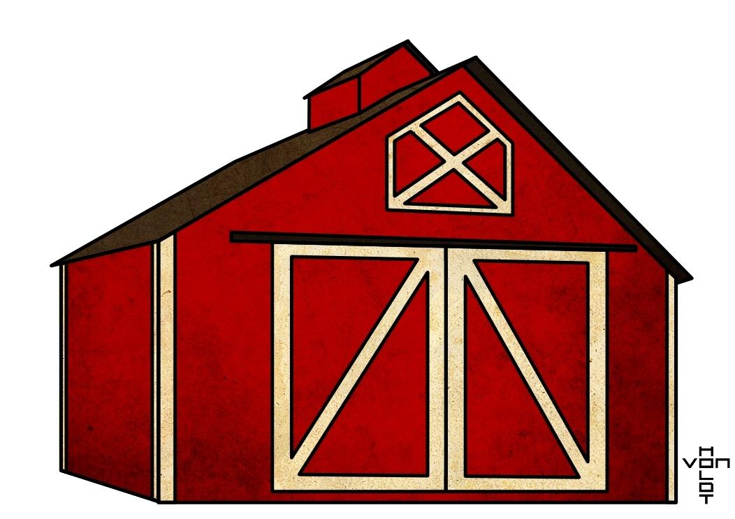 Red barn door clipart clipart kid.