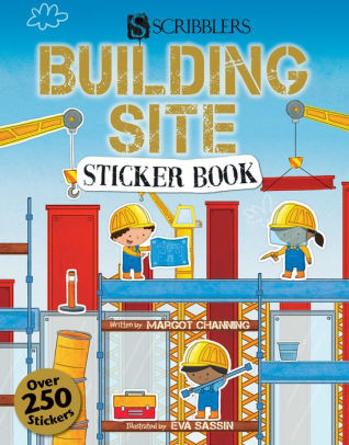 Building Site Sticker Book.