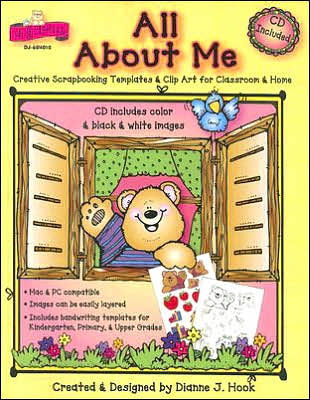 All about Me: Creative Scrapbooking Templates & Clip Art for Classroom &  Home.