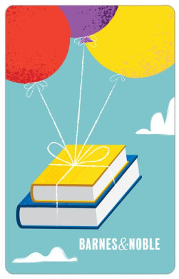 Books & Balloons Gift Card by Barnes & Noble.