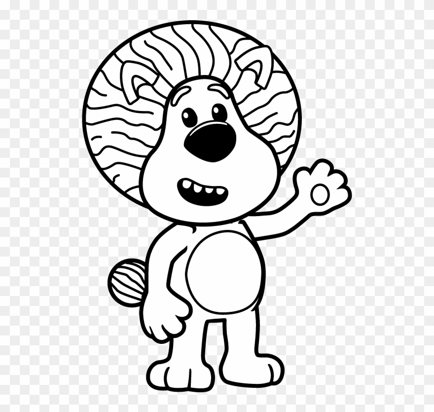 Picture Black And White Download Barney Drawing Colour.