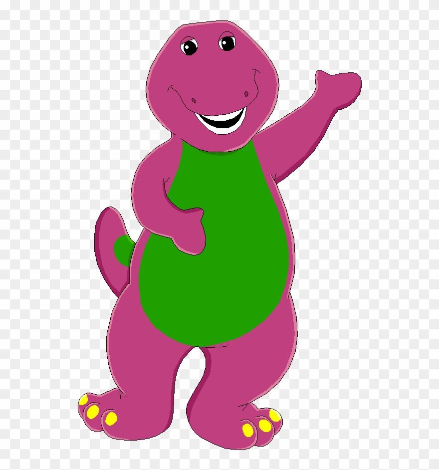 Barney Clip Dinosaur Stock.