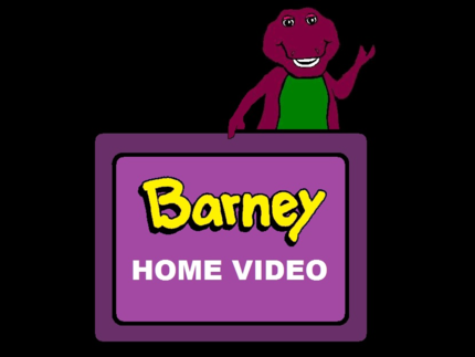 Barney Home Video from a drean.