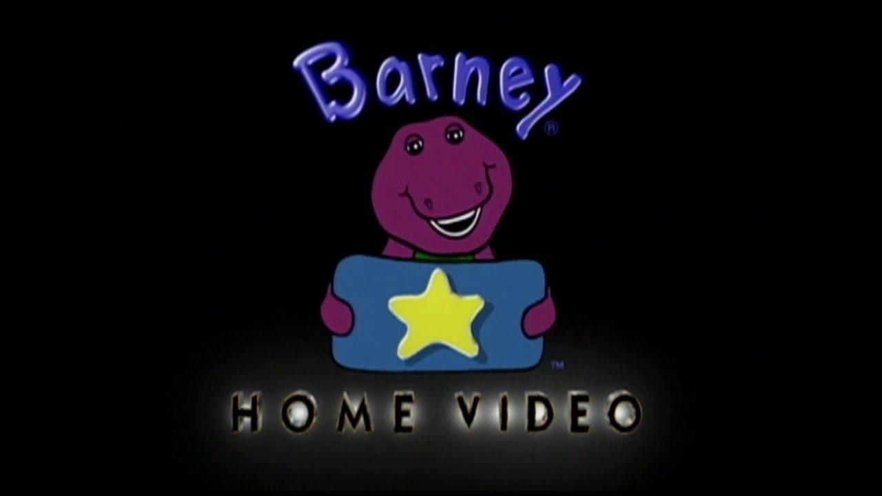 Barney home video Logos.