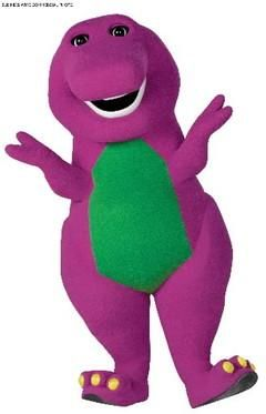 Barney!!! I love youyou love mewe\'re a happy family.