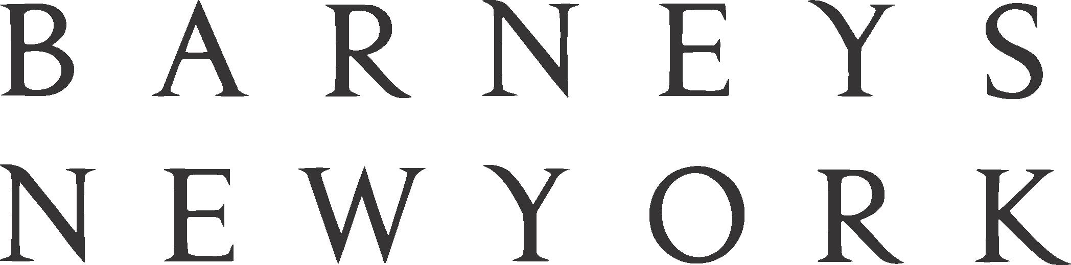 Barneys Logo New York Vector Icon Template Clipart.