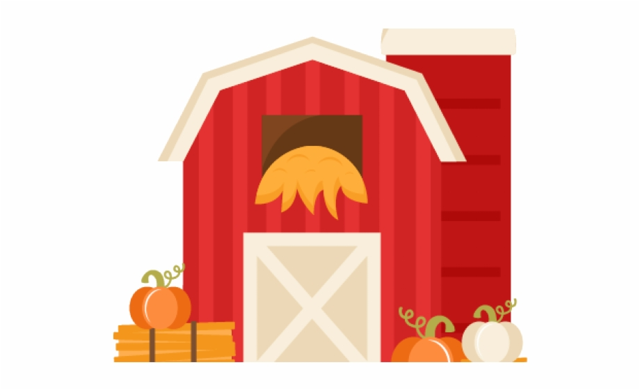 Barn Clipart Svg Miss Kate Cuttables Farm.