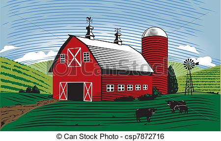 Barn Illustrations and Clip Art. 5,711 Barn royalty free.