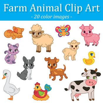 Barnyard animals clipart 9 » Clipart Station.