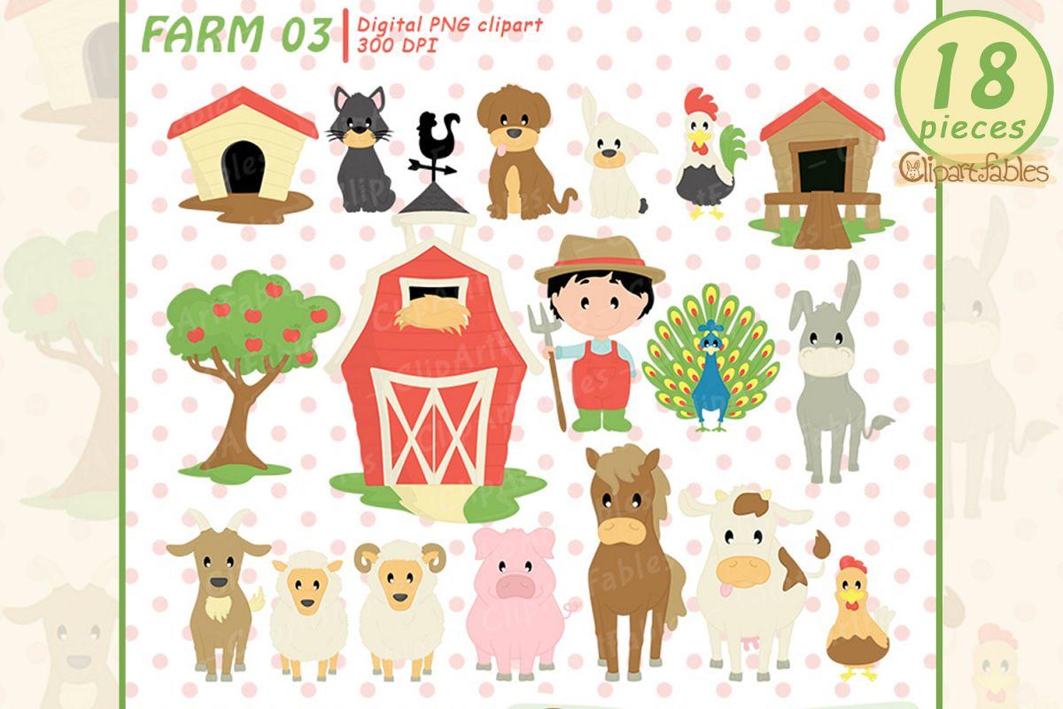 Farm clipart, nice barnyard clip art.