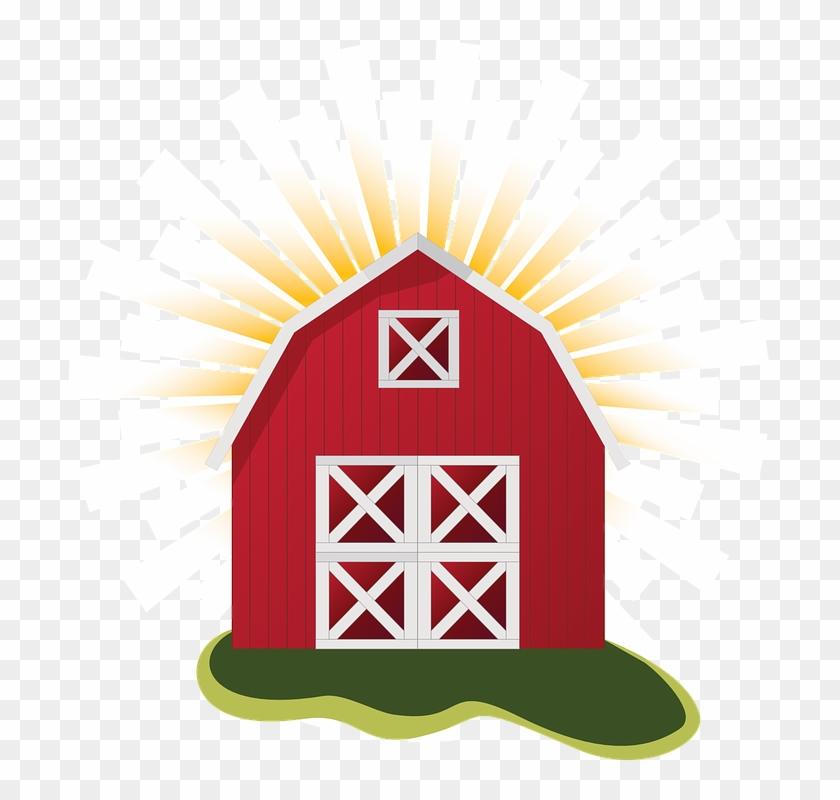 Farm Barn Clip Art Clipart Clipartcow.