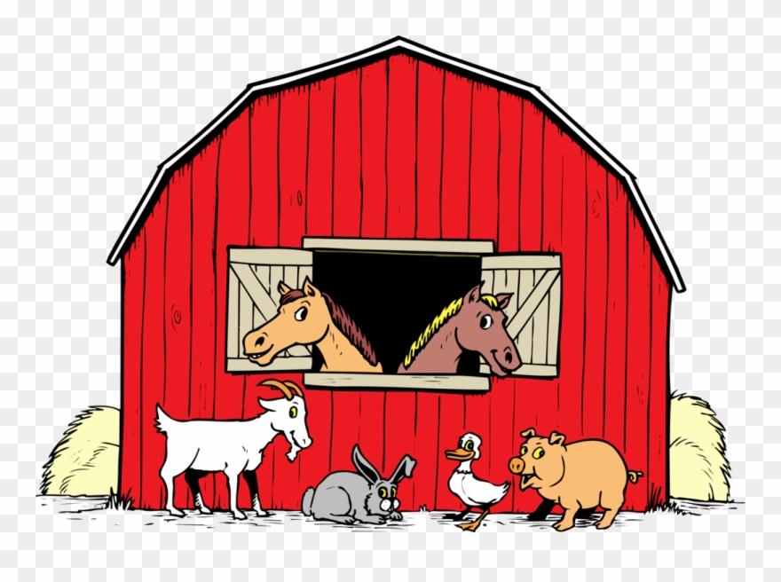 Farm Barnyard Png.