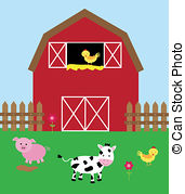 Barnyard Illustrations and Clip Art. 836 Barnyard royalty free.