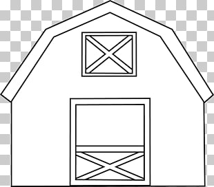 44 black And White Farm Barn PNG cliparts for free download.