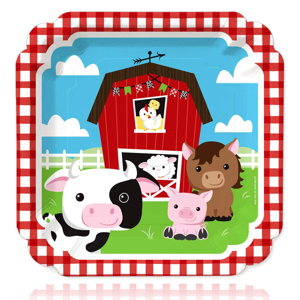 Big Dot of Happiness Farm Animals.